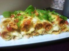 Sweet Potato and Zucchini Canneloni