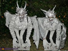medieval gargoyles, awesome homemade costume