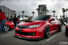 Subaru WRX Sti performing with sporty, so many consumers are approached because adrift in terms of body and elegant look. Subaru Impreza Sti, Wrx Sti, Sti Hatchback, High Performance Cars, Jdm Cars, Slammed Cars, Japanese Cars, Modified Cars, Dream Cars