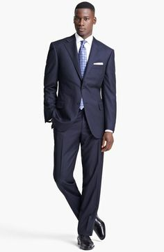 Canali Classic Fit Stripe Suit available at #Nordstrom