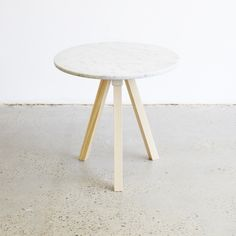 A3-Joint Marble Side Table - ALL - TABLES