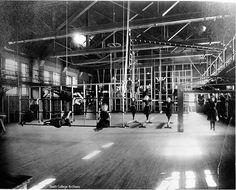 The Alumnae Gymnasium when it was actually a gymnasium!