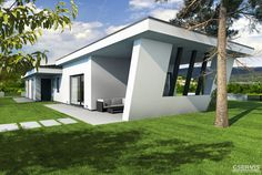 Elite Easy Jobs, Sustainability, Concrete, Minimalism, Modern Design, Garage Doors, Floor Plans, Exterior, Architecture