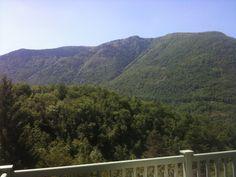 Pyrnees countryside near Foix, France