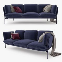 And Tradition Cloud Three Seater Sofa Model available on Turbo Squid, the world's leading provider of digital models for visualization, films, television, and games. Outdoor Sofa, Outdoor Furniture, Outdoor Decor, Sofa Design, Scandinavian Sofas, 3d Max, Sofa Furniture, Armchair, Couch