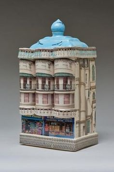 Unusual gifts for important life celebrations. Alice Mara makes ceramic replicas of homes and commercial buildings as special and bespoke presents for significant birthdays A Level Art, Unusual Gifts, Art Photography, Pottery, 3d, Gallery, Paper, Random Things, Clever
