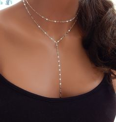 Choker Layered Choker and Lariat Gold or by SimpleAndLayered