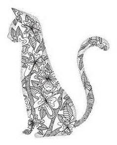 Zentangle Cats - Bing Images