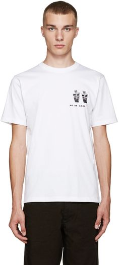 Perks and Mini: White Magiz T-Shirt | SSENSE