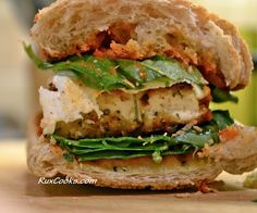 Tofu Parm Sammich   Rux Cooks