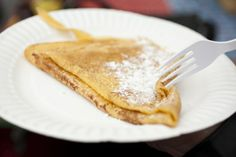 #Yorkshire #streetfood revolution. #Crepes with lemon and sugar at Creperie Louis.