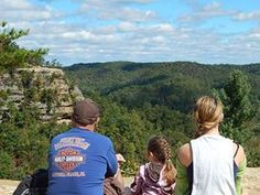 Natural Bridge State Park, KY. Awesome hiking, some very rugged trails, some safe enough for toddlers, just be safe.