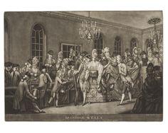 John Raphael Smith (British, 1752–1812), After John Sanders (British, 1750–1825), Bagnigge Wells. Mezzotint engraving, 1772