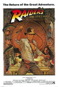 Indiana Jones Raiders Lost Ark Poster