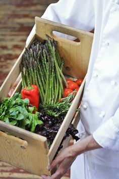 A really cool harvest box or basket is on my current wish list... :)