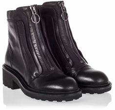 Ash  Space Womens Boot Black Leaser 340521 EP10