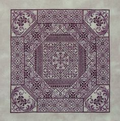 Pattern: Shades of Plum by Northern Expressions Needlework