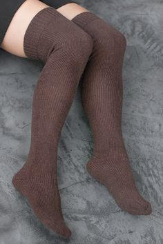 Socks by Sock Dreams » .Socks Special Collections » Wool » Orkney Angora Over the Knees
