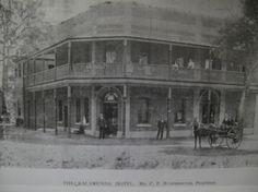 Original Kalamunda Hotel, Perth, WA,  Circa 1902