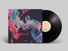 Pigmented Patterns by Jack Vanzet - News - Frameweb Cover Art, Vinyl Cover, Cd Design, Album Cover Design, Cool Album Covers, Music Covers, Album Design, Cd Artwork, Minimalist Graphic Design