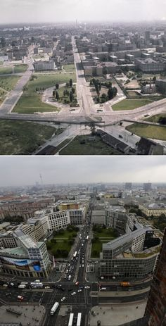 Leipziger Platz 1962 & 2014.