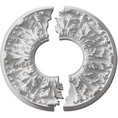 Fypon Ceiling Medallions add a touch of sophistication to ceiling fans or overhead lighting. Carefully contoured to complement a vareity of architectural details. Choose from an array of styles, from simple and classic to elaborate and elegant. Home Ceiling, Ceiling Decor, Ceiling Lights, Ceiling Fans, Decorative Mouldings, Overhead Lighting, Ceiling Medallions, Design 24, Mirrors