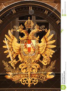 Austro-Hungarian Monarchical Emblem Stock Images - Image: 31292504