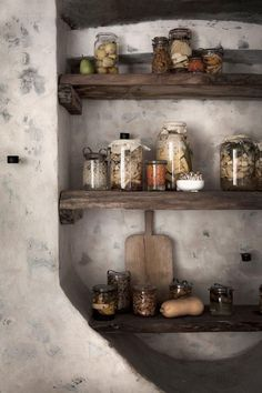 Pantry in the Cellar