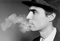 I try never to wear my own clothes, I pretend I'm someone else.  —David Byrne
