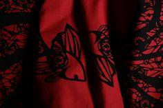Tenugui Towel by Manaka #zenpuls #japan #handcrafted #handmade #towel #tenugui #interior #desing #bath #spa #wellness #fashion #red #exclusive #luxury #manaka