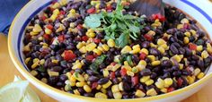 SWEET CORN AND BLACK BEAN SALAD | Easy Recipes Guide