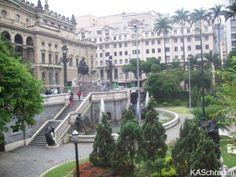 Praça Ramos de Azevedo, São Paulo, Brazil.