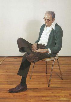 Duane Hanson, Old Man Dozing, 1976 ©