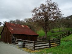 Barn at the Old Borges Ranch in California (walnut creek www.thejohnsonway.com