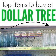 What to buy at the Dollar Tree store to save you money. Here are the top items to buy next time you head to the Dollar Tree that will actually save you cash