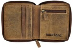 Mustard State Leather Wallet - Multi-colour