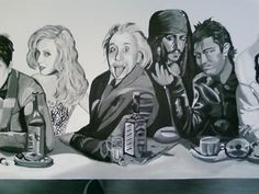 8 Christina Aguilera, Albert Einstein, Jack Sparrow (Johnny Depp), Christiano Ronaldo