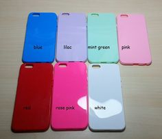 For Apple iphone 6 (4.7 inches) Candy Color TPU Soft Silicone case