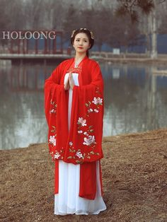 Ancient china clothing Orient asian clothes Women Hanfu Chinese Shirt