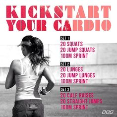 Kickstart cardio