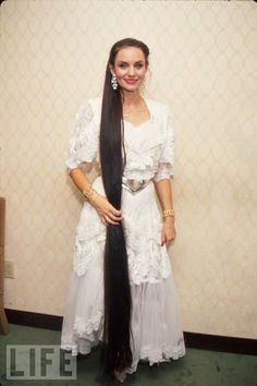 Crystal Gayle-I had the biggest crush on her growing up! Look at her beautiful hair...