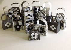 Small Black and White party favors via Etsy