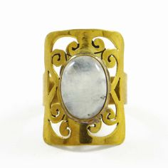 This is a beautiful goldtone metal size ring which is studded with stone. It is a high quality fashionable ring.this is img Fashion Rings, Fashion Jewelry, Indian Fashion, Womens Fashion, Moonstone Ring, Boho Rings, Gifts For Women, Jewelry Gifts, Gemstone Rings