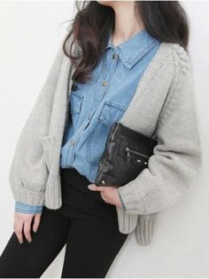 what a cute ootd <3 want to style up like this for my daily…                                                                                                                                                                                 More