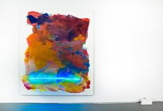 Mary Weatherford - FlatSurface - Contemporary art blog