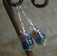 Sunset Sail Earrings by 2buoysNautical on Etsy