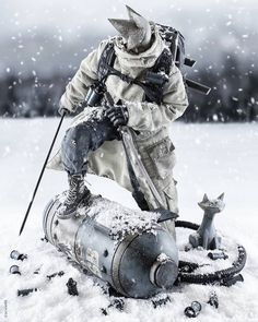 3ALegion feature: Tomorrow Kings | Ronin Snow Blind and Popbot | Kitty…