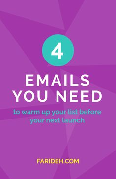 The 4 Emails You Need to Warm Up Your List Before Your Next Launch (Guest Post with Whitney Ryan)