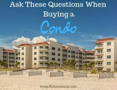 Find answers to questions that have to do with the board, financial health, rules, and monthly fees. Buying A Condo, Home Buying, Renters Insurance, Beach Properties, Air Space, Orange Beach, First Time Home Buyers, Beach Condo, Looking To Buy