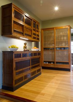 Stunning Japanese, timber kitchen. www.thekitchendesigncentre.com.au @thekitchen_designcentre